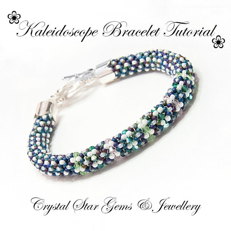Kaleidoscope Bracelet Tutorial - product images