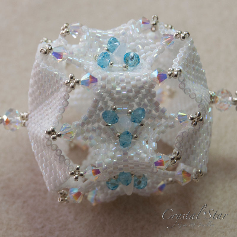 Snowflake Christmas Ornament Tutorial - product image