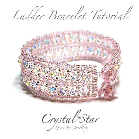 Ladder,Bracelet,Tutorial,Patterns,Beading,Jewelry,pattern,jewellery,tutorial,beading,beaded,bead,seed_bead,crystal,4mm_bicone_pattern,ladder,4mm,4mm_round,No11 Seed Beads,4mm rounds,4mm faceted rounds,4mm bicones,No15 seed beads