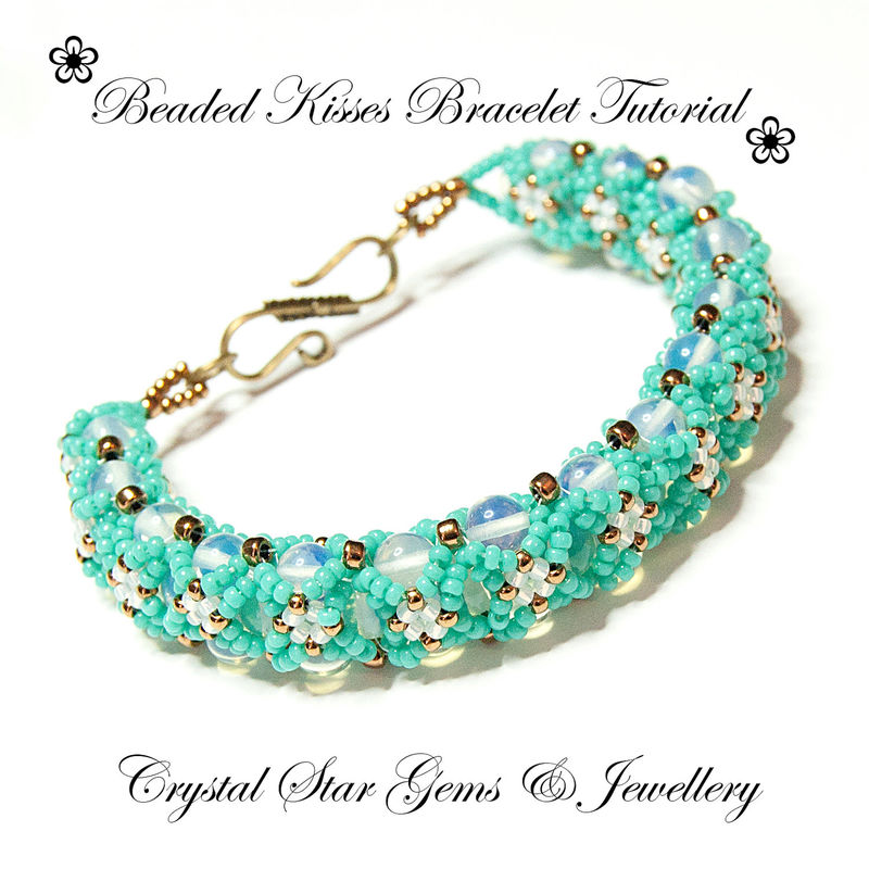 Kisses Bracelet Tutorial - product images