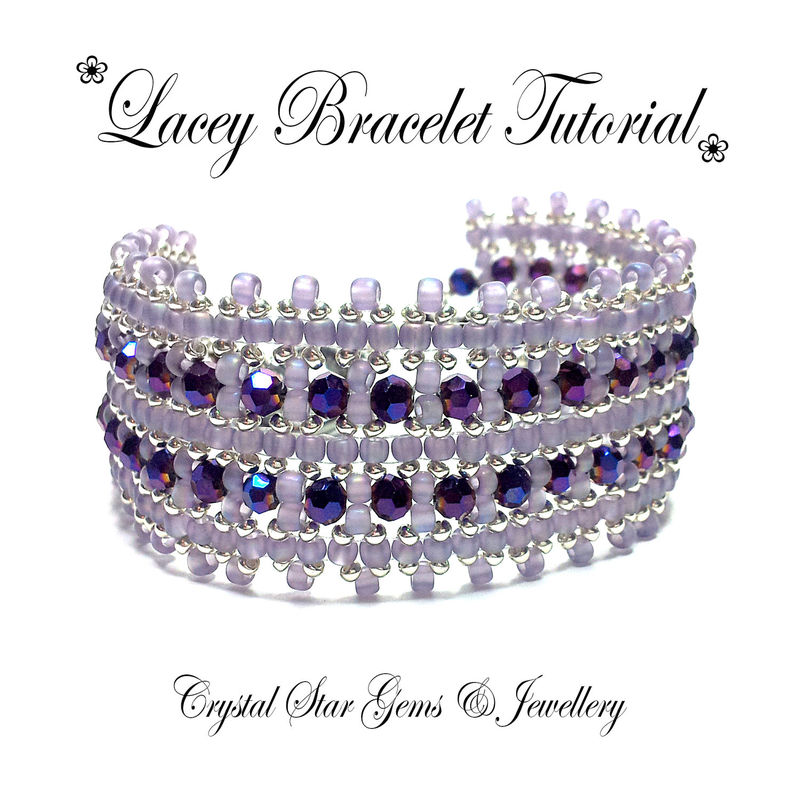 Lacey Bracelet Tutorial - product images