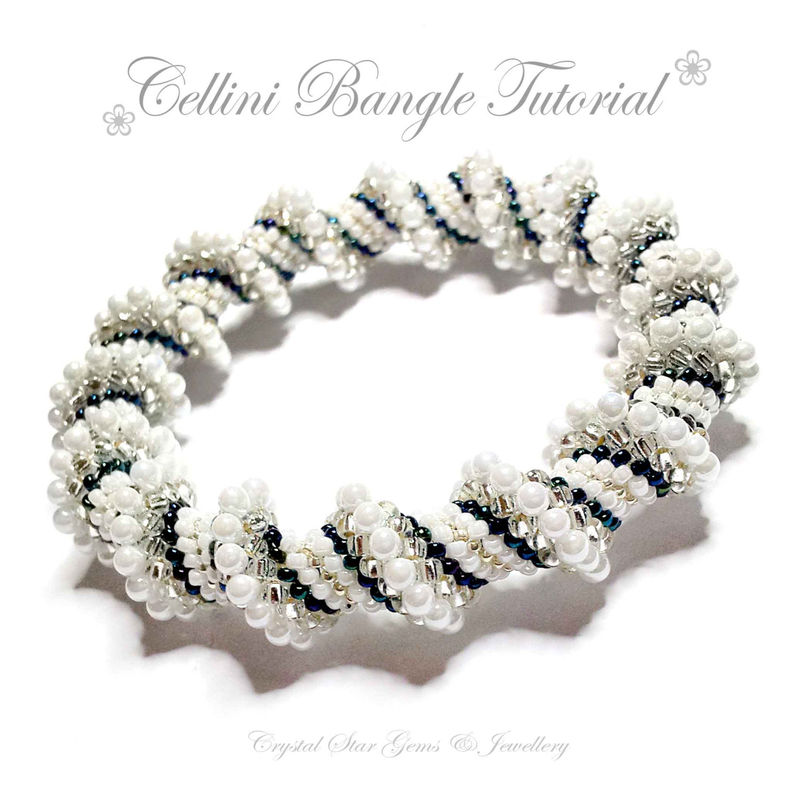 Cellini Spiral Bangle Tutorial - product image