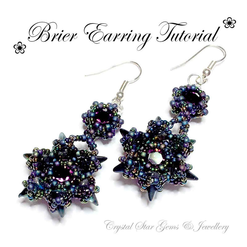 Brier Earring Tutorial - product images