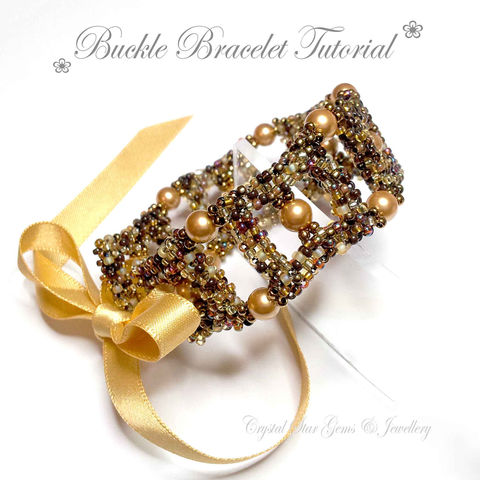 Buckle,Bracelet,Tutorial,Patterns,Beading,Jewelry,tutorial,buckle_tutorial,buckle_bracelet,bracelet,seed_bead_tutorial,beaded_buckle,bracelet_tutorial,pattern,ladies_bracelet,CRAW_tutorial,CRAW_pattern,Miyuki seed beads,Toho seed beads,Swarovski pearls,Ribbon