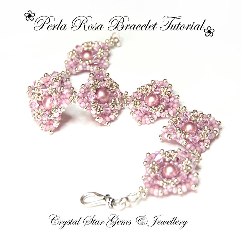 Perla Rosa Bracelet Tutorial - product images