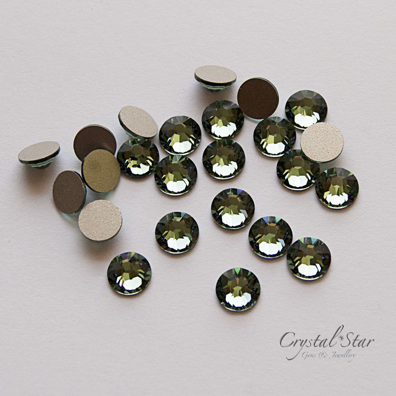 Swarovski Xilion Rose SS34 - Erinite - NON HOT FIX - product image
