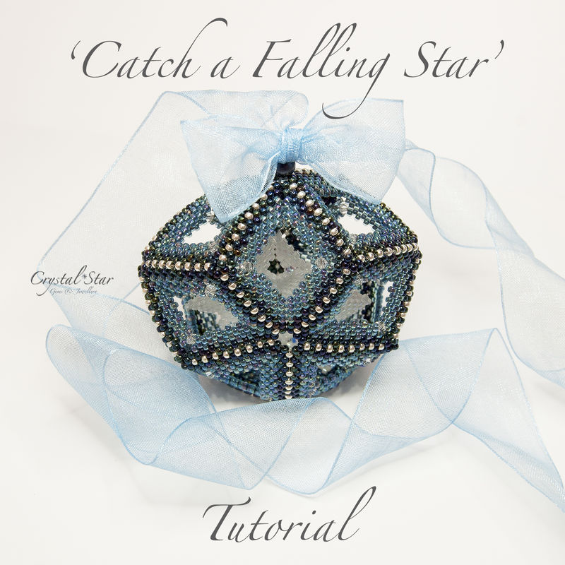 Christmas Ornament PDF Tutorial - Catch a Falling Star - product image