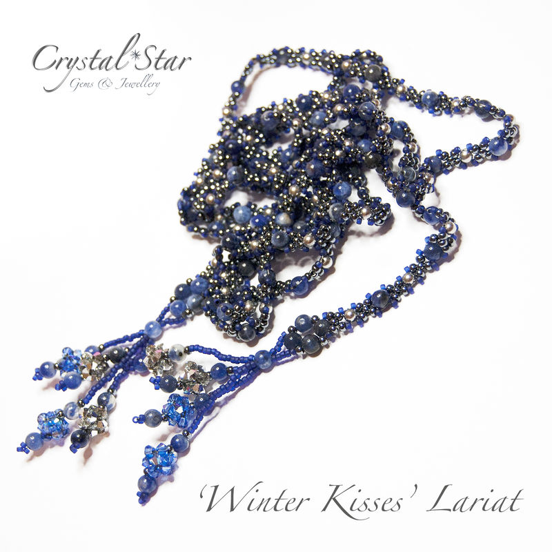 Lariat 'Winter Kisses' Tutorial - product image
