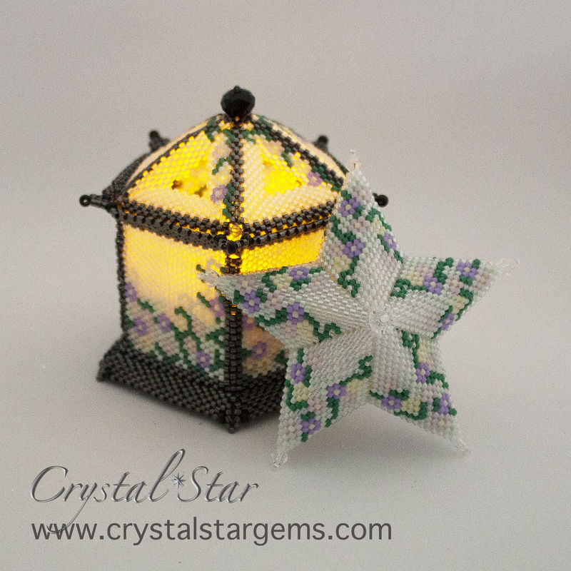 Blossom Star beading tutorial - product image