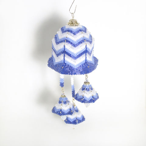 The,Bell,Ornament,-,Peyote,Stitch,bell, window ornament,beaded,beading,ornament,peyote,PDF,tutorial,pattern,instructions,handmade,gift, pattern,Tracey Lorraine,Crystal Star Gems & Jewellery,Crystal Star,crystalstargems