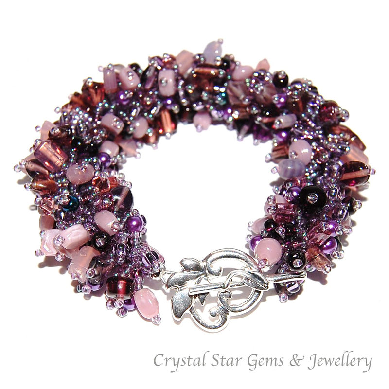 Purple Fringe Bracelet - product images