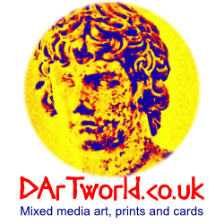DArTworld - mixed media art, cards and prints