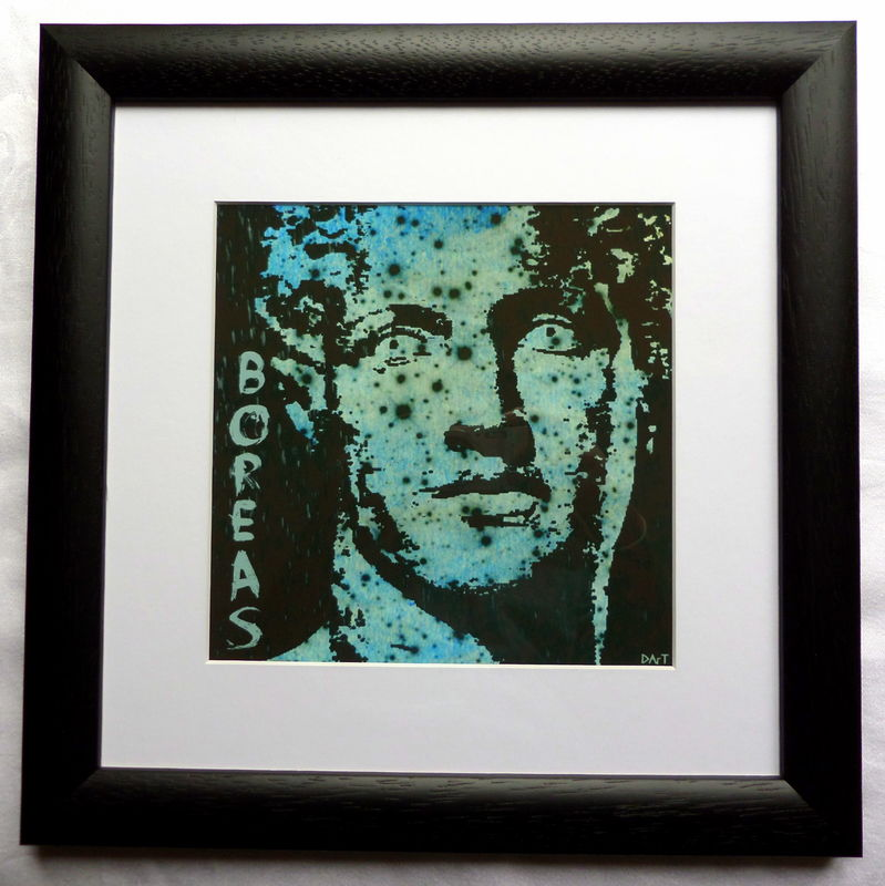 Boreas, Greek God of the North Wind, Giclee Print - product image