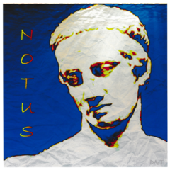 Notus, Greek God of the South Wind, Giclee Print - product images 2 of 3