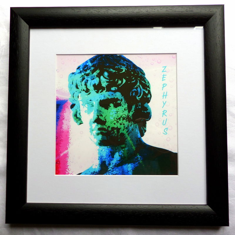 Zephyrus, Greek God of the West Wind, Giclee Print - product image