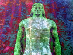 'Apparition' Giclee Print of a Greek Kouros Statue - product images 3 of 5