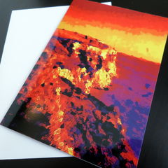 Greetings Card - Dark Cliffs - product images 2 of 3