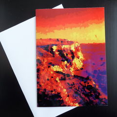 Greetings Card - Dark Cliffs - product images 3 of 3