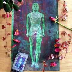 'Apparition' Giclee Print of a Greek Kouros Statue - product images 5 of 5