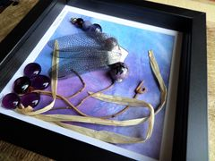 Beaded Beasties, Purple Profile Dragonfly Box Frame - product images 3 of 5