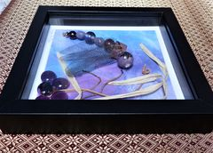 Beaded Beasties, Purple Profile Dragonfly Box Frame - product images 4 of 5