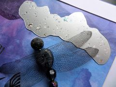 Night Flight, Beaded Dragonfly Box Frame - product images 5 of 5