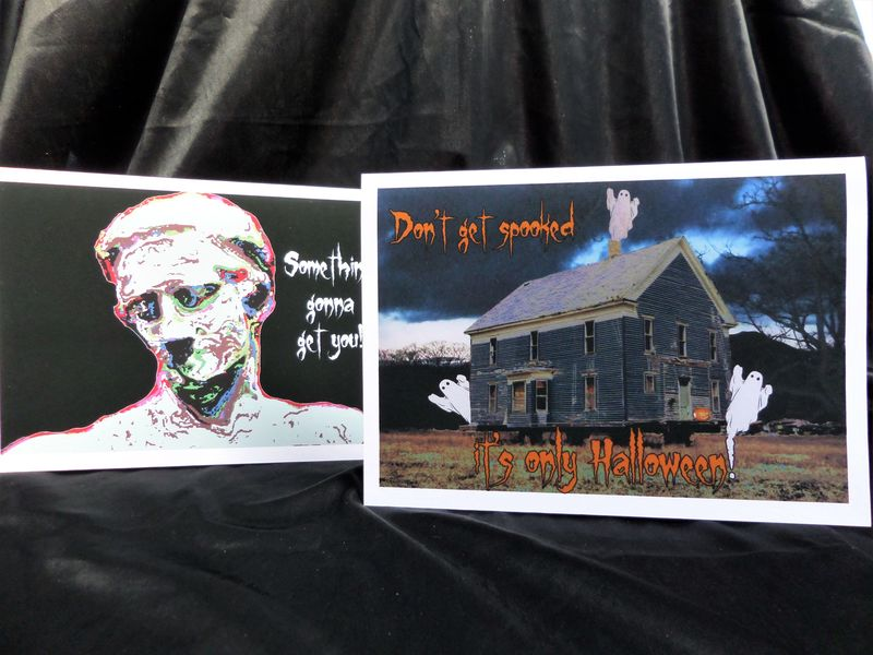 Haunted House Halloween Card - product image