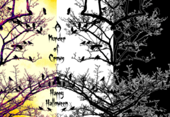 A Murder of Crows Halloween Card - product images 1 of 3
