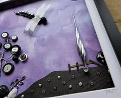 Mysterious Moonlight, Beaded Dragonfly Box Frame - product images 3 of 5