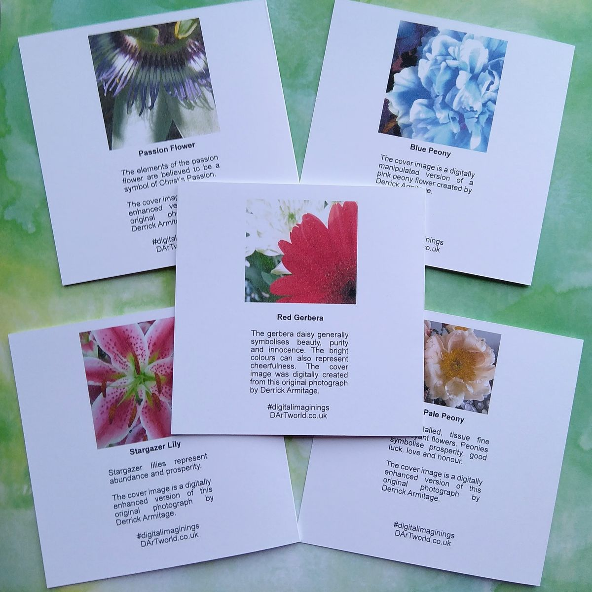 Floral Notes, Pack of Five Notecards - product images  of