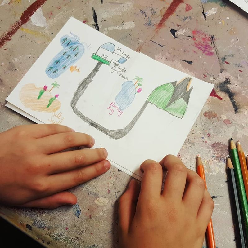 Children's art workshop 14th August - product images  of