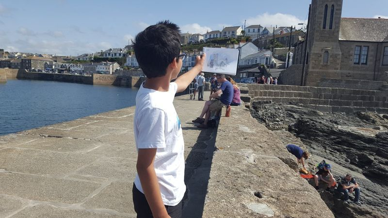 2hr Sketchwalk Workshops Porthleven - product images  of