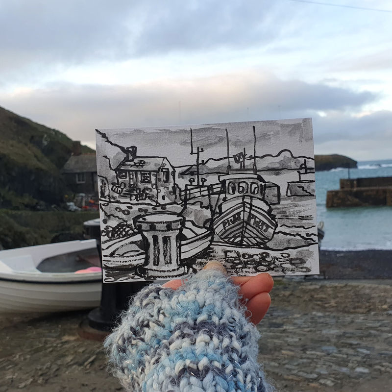 #4 Mullion Cove, Lizard | Postcard Project - product images  of