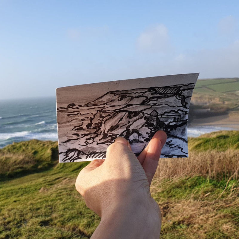#6 Church Cove, Gunwalloe | Postcard Project - product images  of
