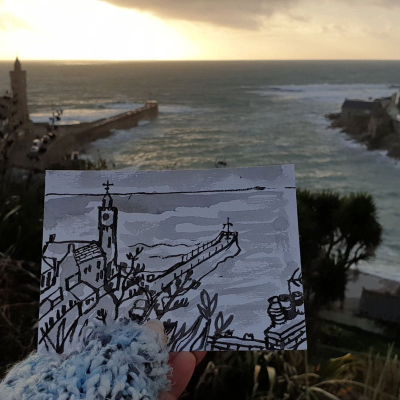 #12 Porthleven | Postcard Project - product images  of