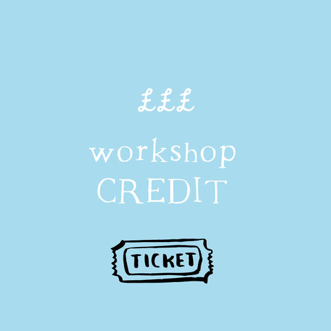 Workshop,Credit,voucher, credit, workshop, gift, gift voucher
