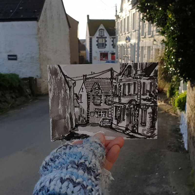#20 Post Office, Lizard Village, Cornwall | Postcard Project - product images  of