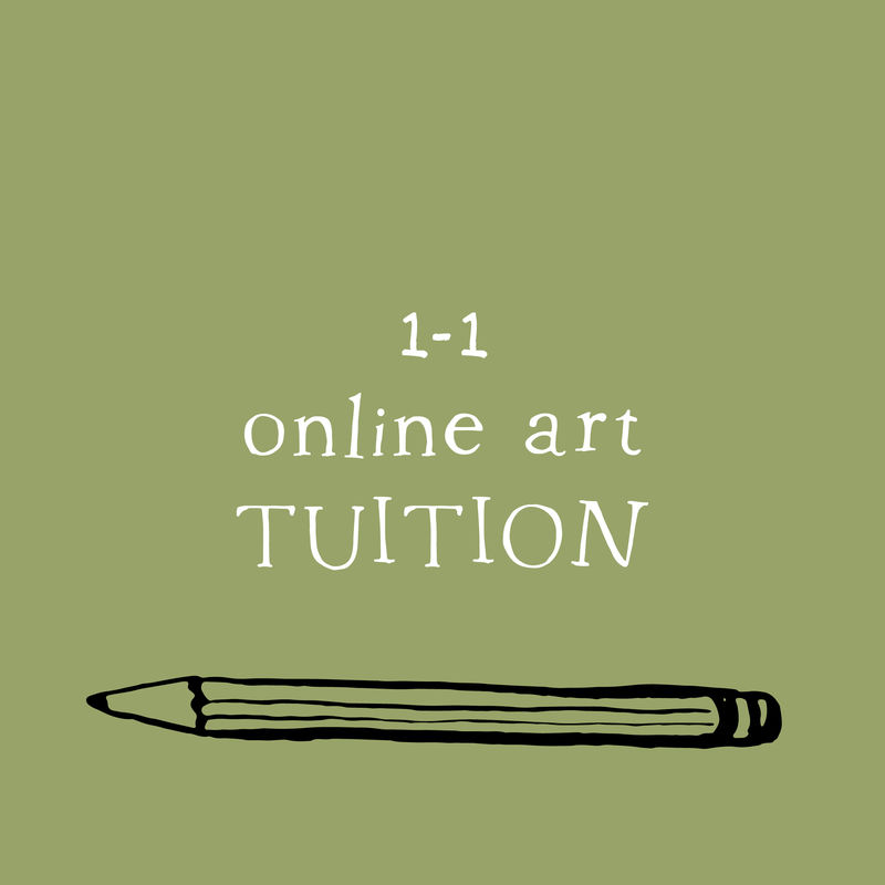 1-1 Virtual Art Tuition -drawing and sketching - product images