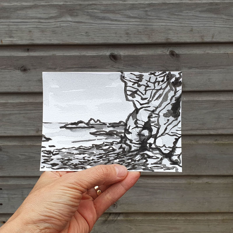 #131/ No. 2 Polpeor Cove, Rocks, Lizard Peninsula - product images  of