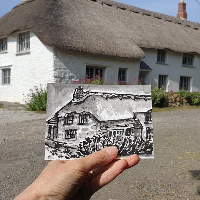 #144 Thatch Cottage, Mullion, Lizard Peninsula - product images  of