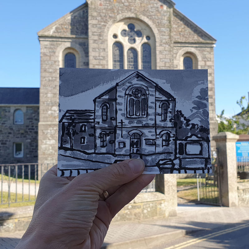 #151 Mullion Methodist Chapel, Mullion, Lizard Peninsula - product images  of