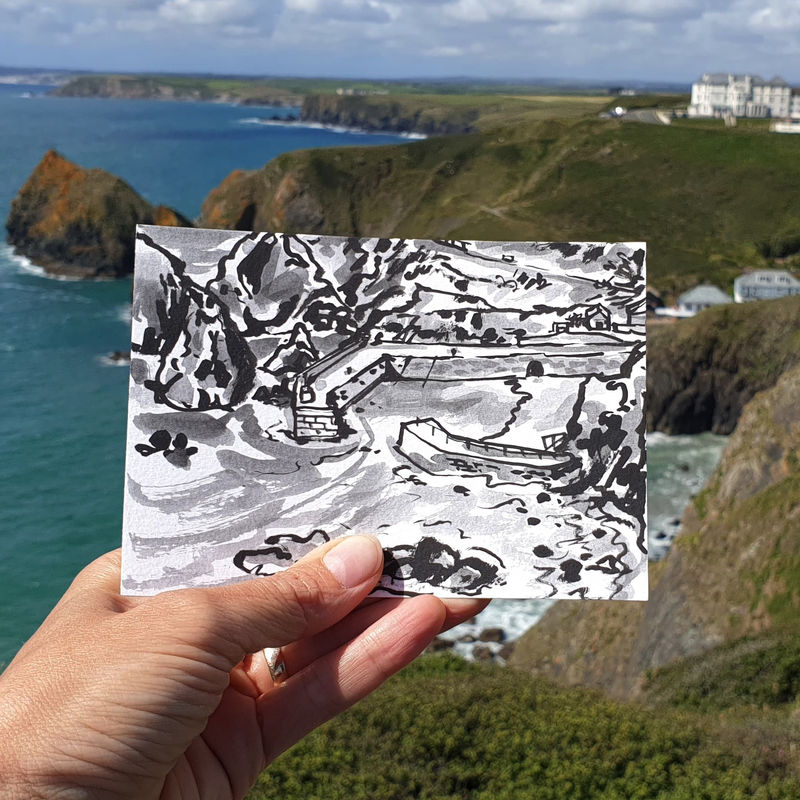 #188 Mullion Harbour, Lizard Peninsula - product images  of
