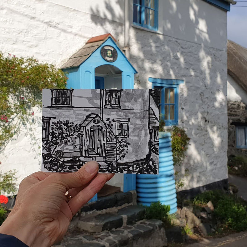 #209 Corner House Cottage,  Cadgwith, Cornwall - product images  of