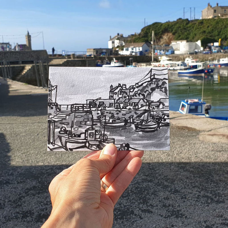 #239 Harbour, Porthleven, Cornwall - product images  of