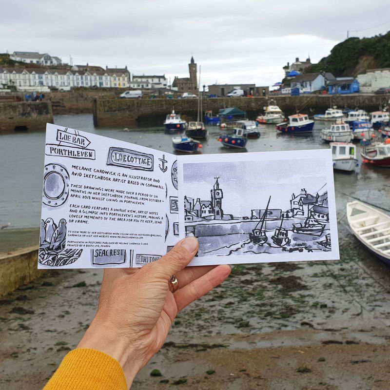 Porthleven Postcard Book - product images  of