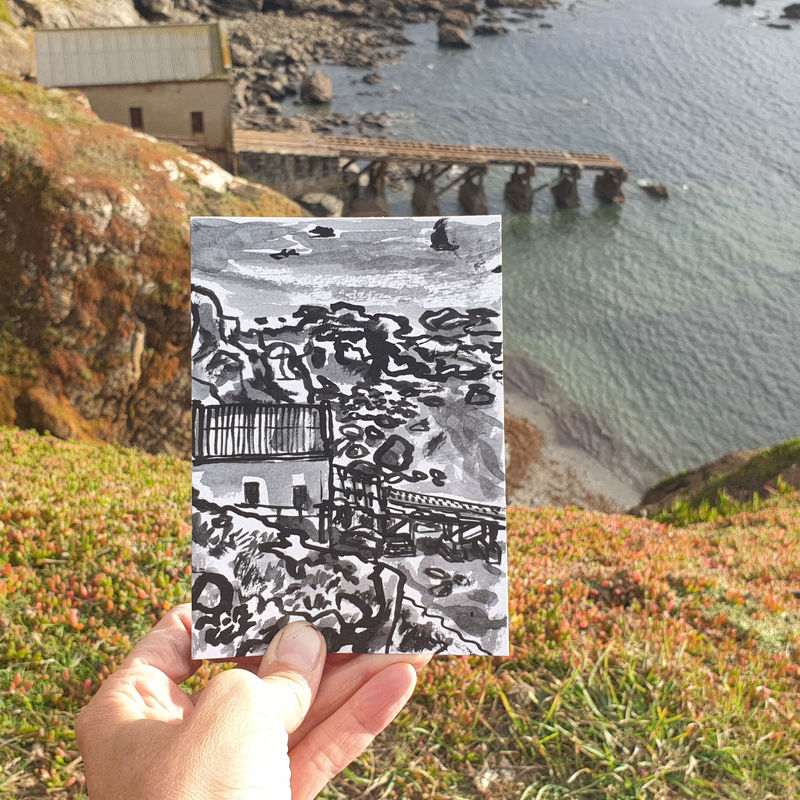 #284 Old Lifeboat Station, Polpeor, Lizard, Helston Cornwall - product images