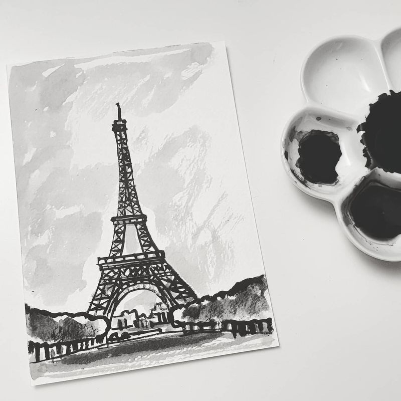 #331 Eiffel Tower, Paris, France - product images
