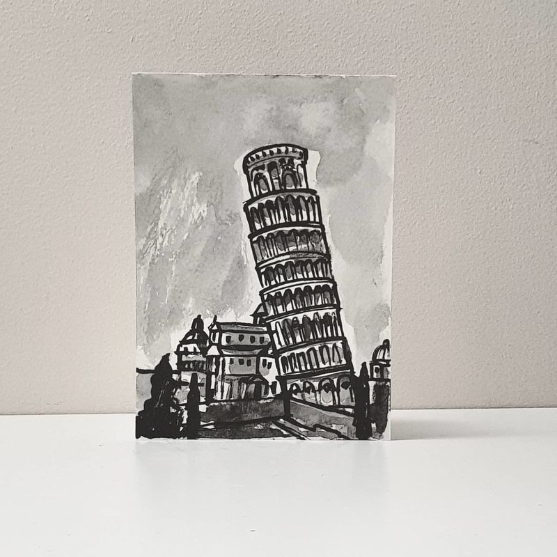 #335 The Leaning Tower of Pisa  - product images