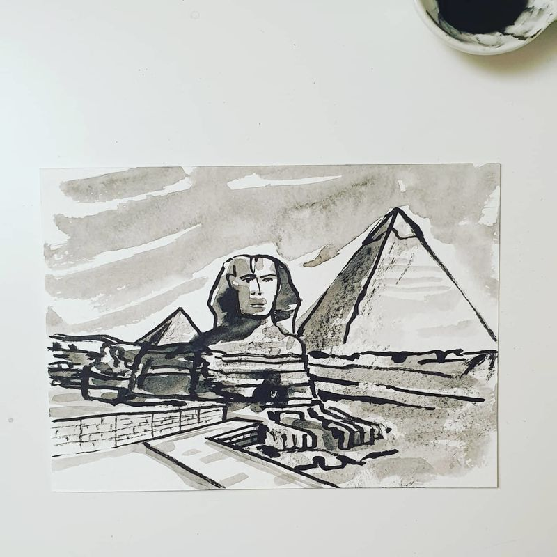 #337 The Pyramids and the Sphinx, Giza - product images