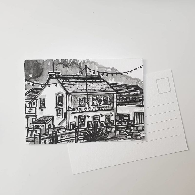 #348 The Five Pilchards Inn, Porthallow - product images